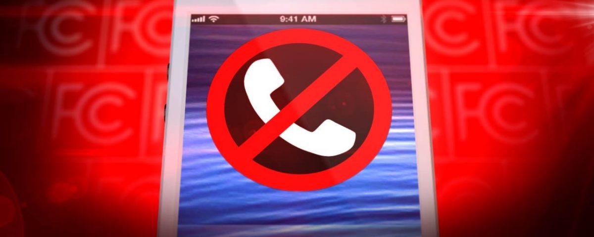 blocked phone call screen