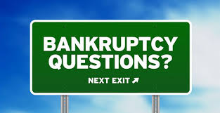 bankruptcy questions sign
