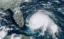 hurricane approaching florida